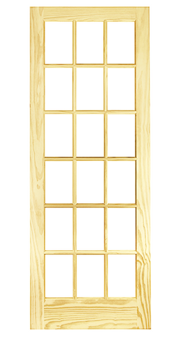 18 Lite French Door