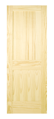 2 Panel Shaker Style Door