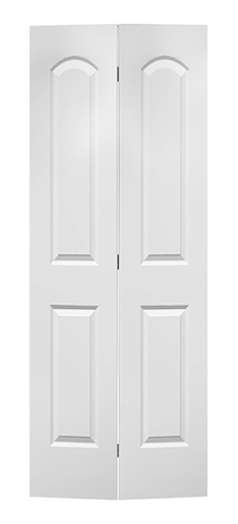 Caiman Molded Bifold Door (Primed)
