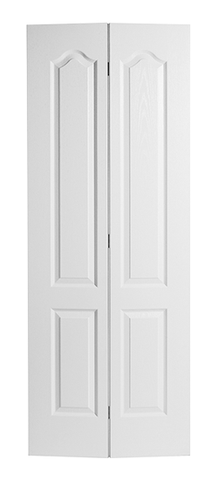 Textured Classique Molded Bifold Door (Primed)