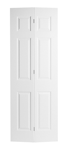 Textured Colonist Molded Bifold Door (Primed)