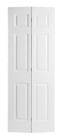 Smooth Colonist Molded Bifold Door (Primed)