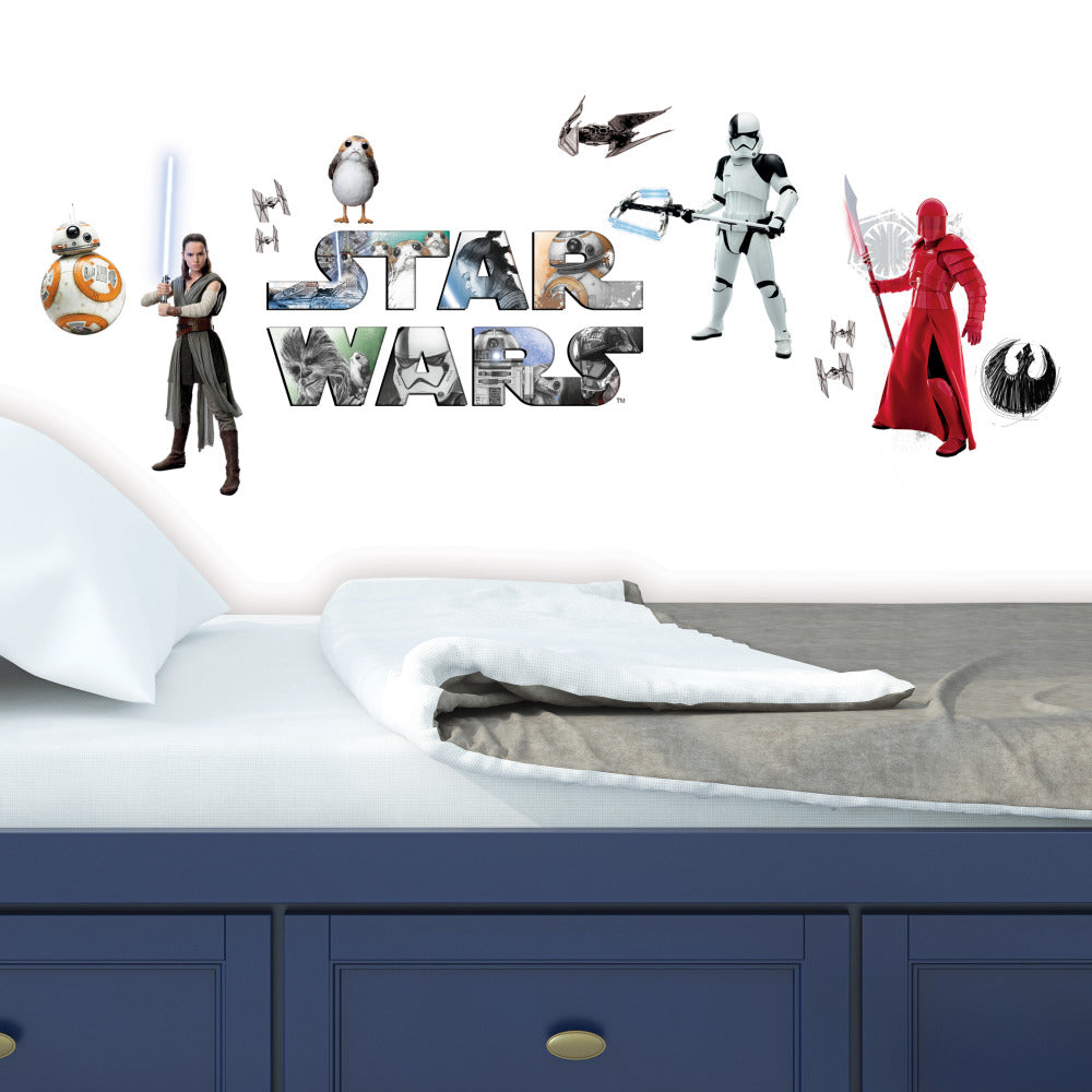 Star Wars VIII Peel and Stick Wall Decals