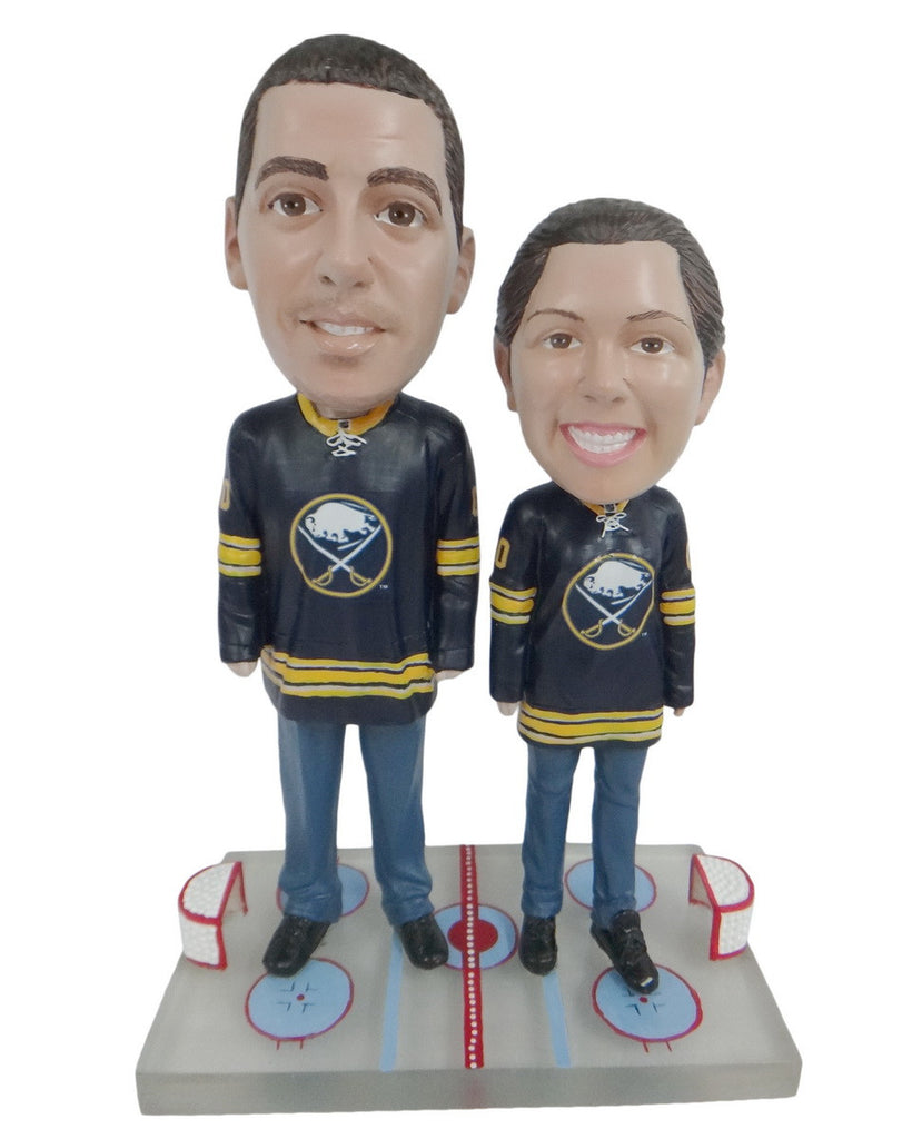 Buffalo Sabres Male and Female Fans