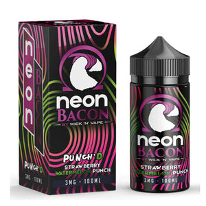 Neon Bacon Punch'd Strawberry Watermelon 100mL