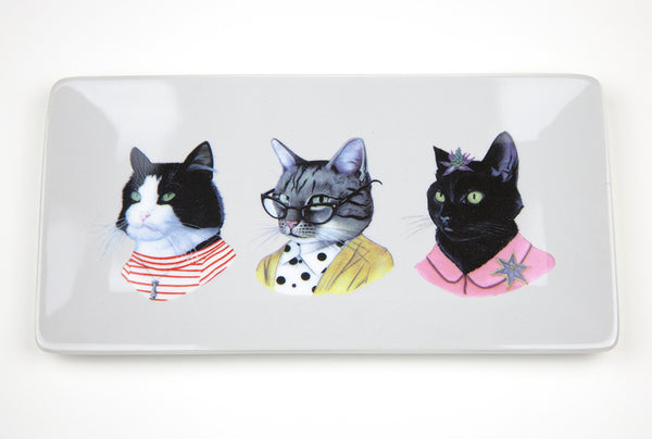 Cat Trio Tray