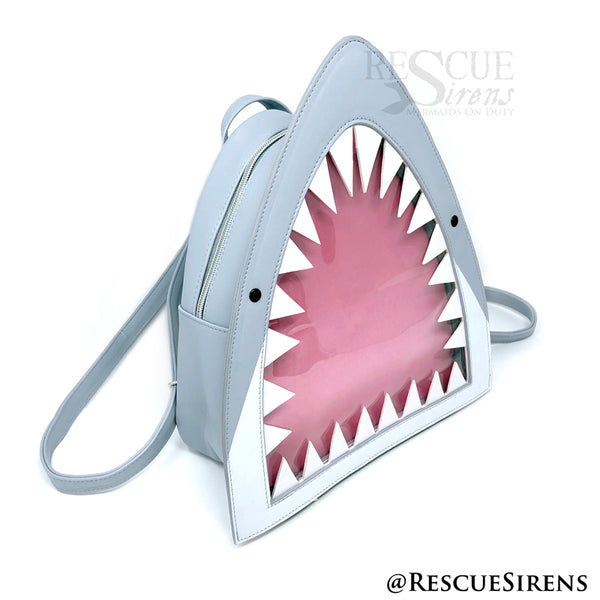 Kawaii Shark Ita Bag and New Enamel Pins – Rescue Sirens