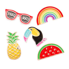 RAINBOW PINS SET (SET/5PCS)