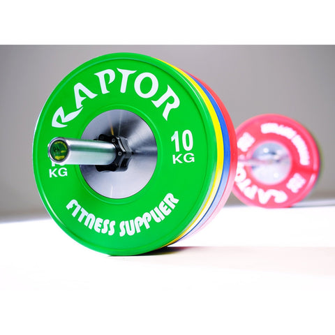 Olympic Weightlifting Barbell And Bumper Set 140 Kg