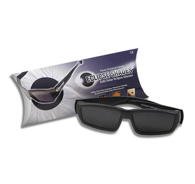 Plastic Eclipse Glasses - Eclipse Shades® - Comes with 2 Free Pair of our Paper Eclipse Glasses!