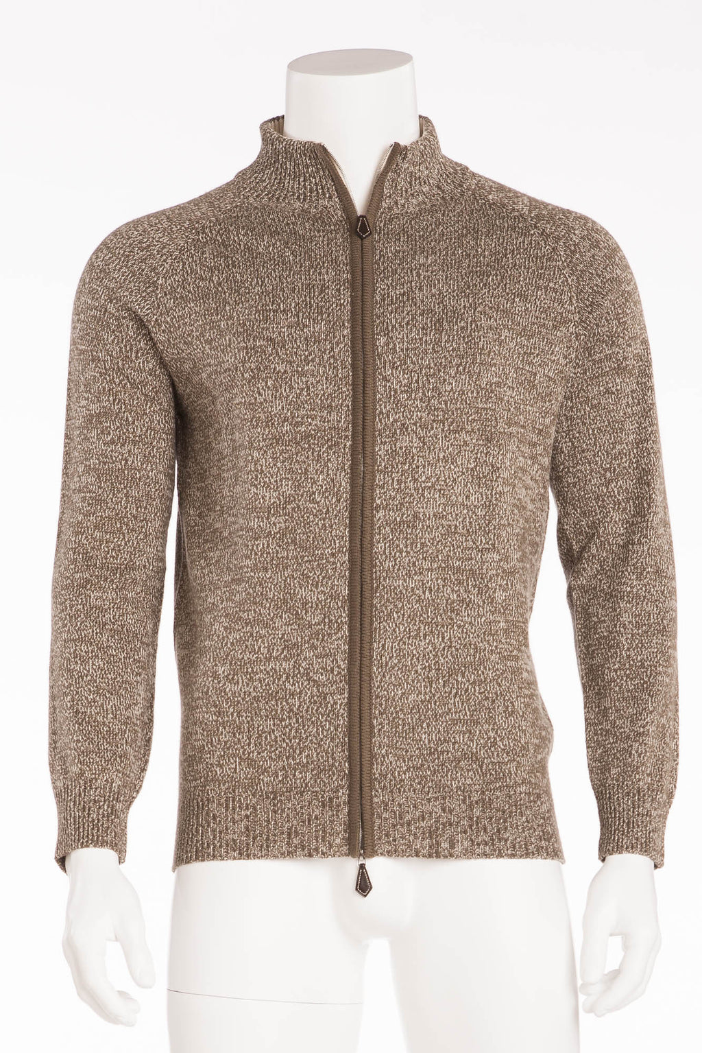 Hermes - New Men's Long Sleeve Zip Cardigan - L