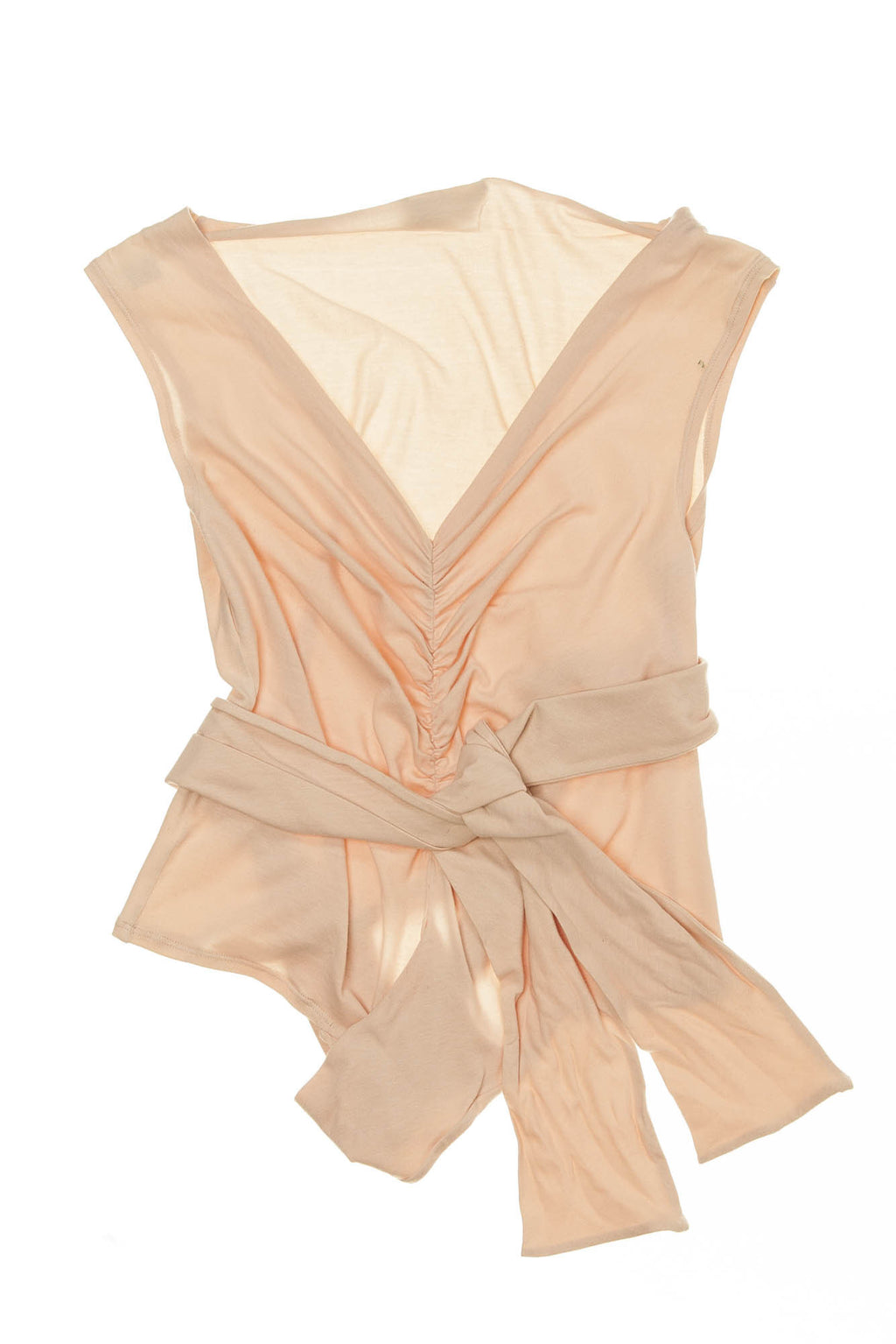Alberta Ferretti - Pink Sleeveless Tie Top - IT 40
