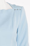 Kenzo - Baby Blue Long Sleeve Short Dress