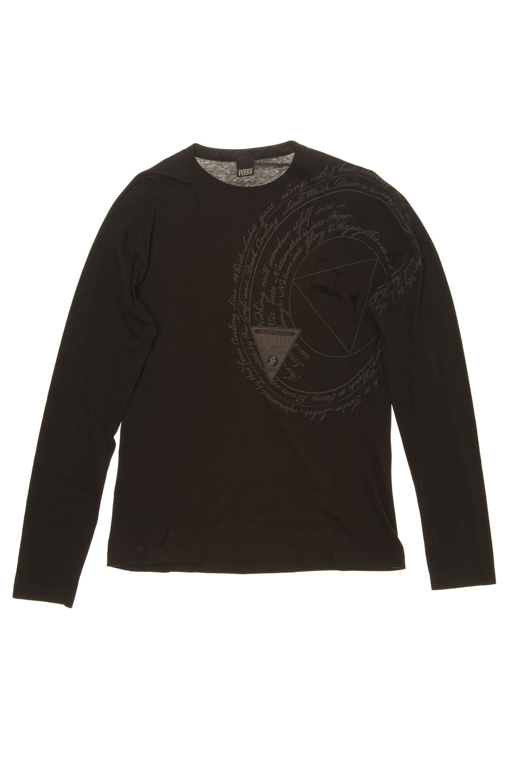 Gianfranco Ferre - Black Graphic Thermal Long Sleeve