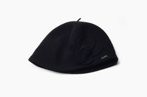 Sonia Rykiel - Black Hat with Flowers -