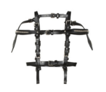 Alexander McQueen - New with Tags Leather Harness