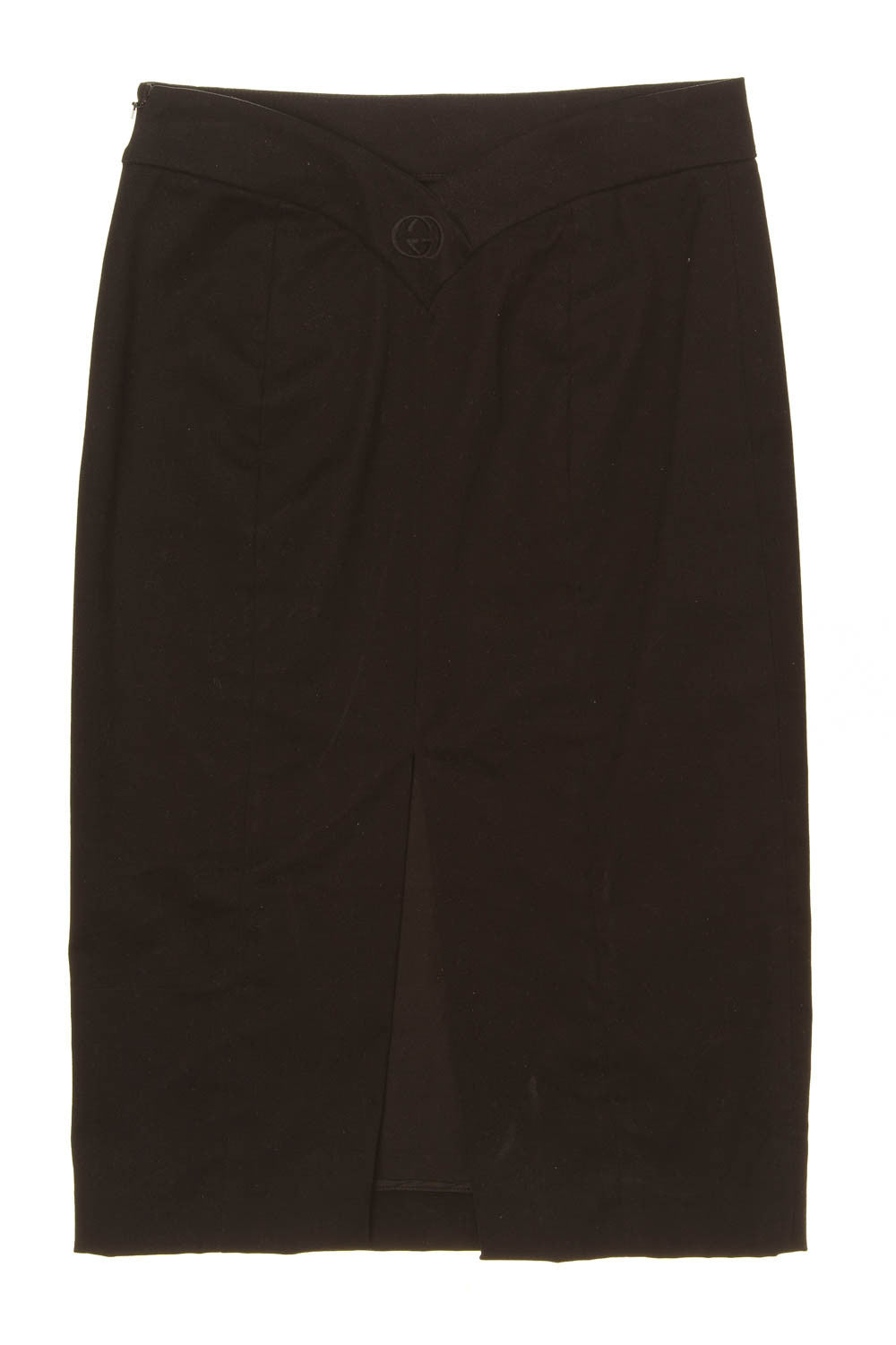 Iconic Tom Ford for Gucci - Black Pencil Skirt - IT 40