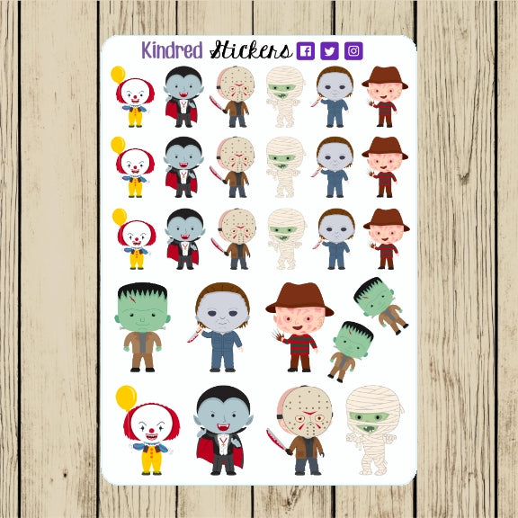 The Horror Stickers