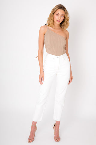 Voyage Crochet Bottoms - White