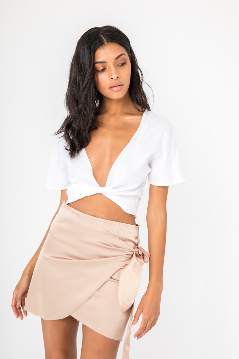 Meghan Top - White