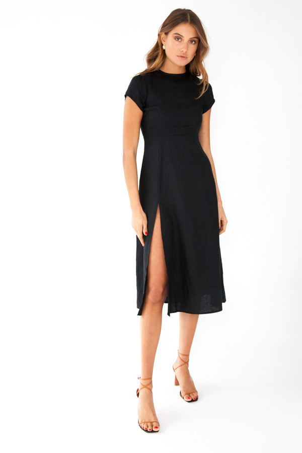 Larissa Dress - Black