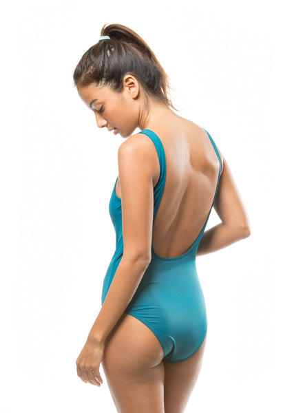 SOLID SPORTY ONE PIECE - DARK & STREAMY - Fashion Market.LK