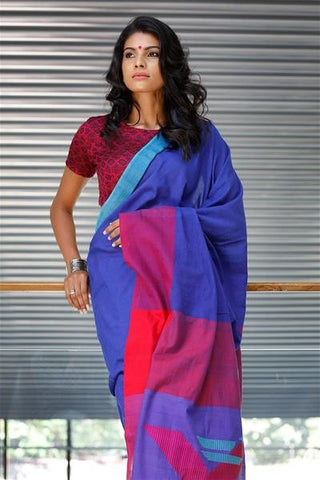 Urban Drape Thrikona Rata Saree