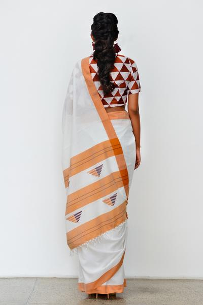 Urban Drape Thrikona Rata Saree - Fashion Market.LK