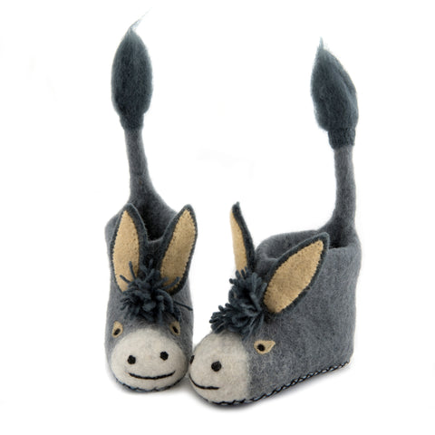 Darci Donkey Children Slippers