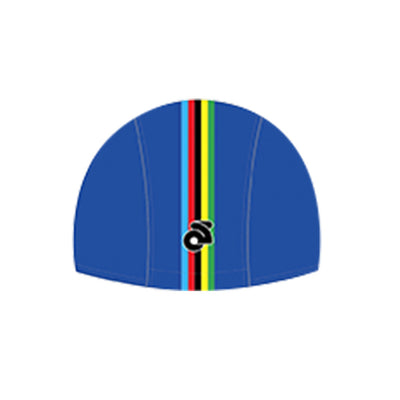 VELOCHAMPION Cycling Tech Cap - Blue with World Champs Band - Velochampion