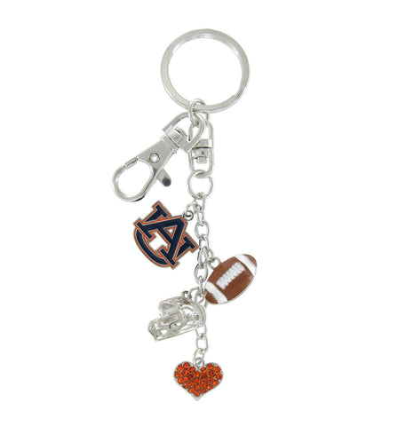 Auburn Tigers Football Combo Key Chain