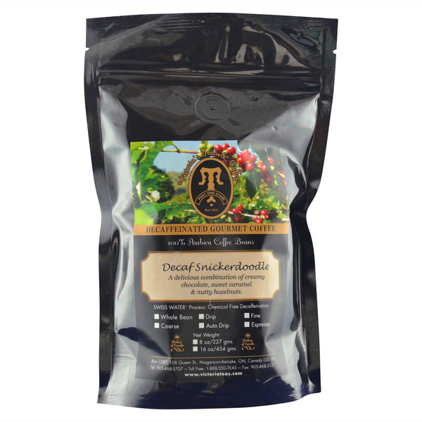 Decaf Snickerdoodle Flavoured Decaf Coffee 1/2 lb