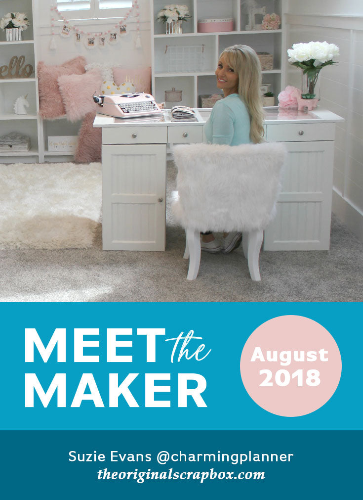 Meet The Maker: Suzie Evans of Charming Planner