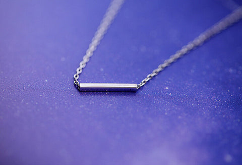 925 sterling silver  Necklace,simple sterling silver necklace, A delicate gift