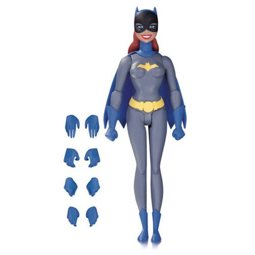 DC Batman: The Animated Series Batgirl Grey Suit Action Figure