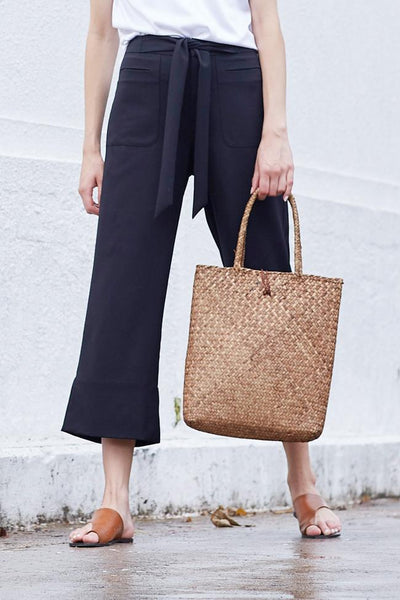 SUNNY Straw Tote Bag