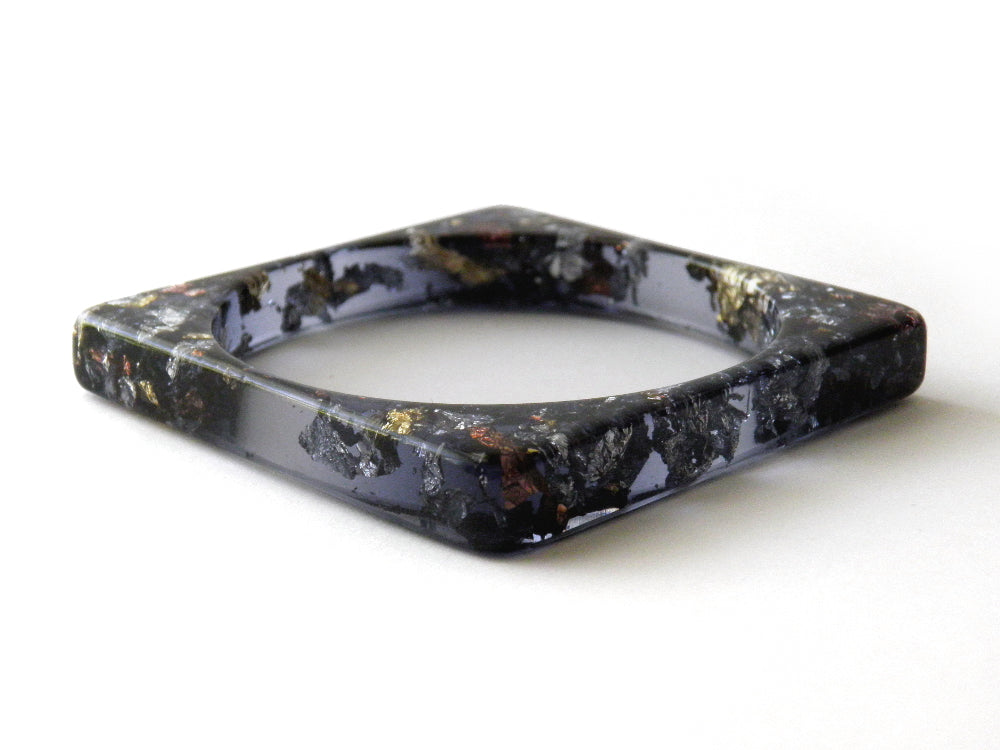 SALE SuperFancy Black Square Bangle