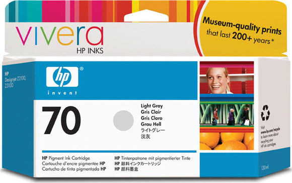HP 70 Light Gray Ink Cartridge - C9451A - CoolGraphicStuff.com