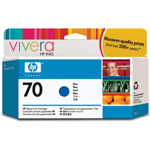HP 70 Blue Ink Cartridge - C9458A - CoolGraphicStuff.com