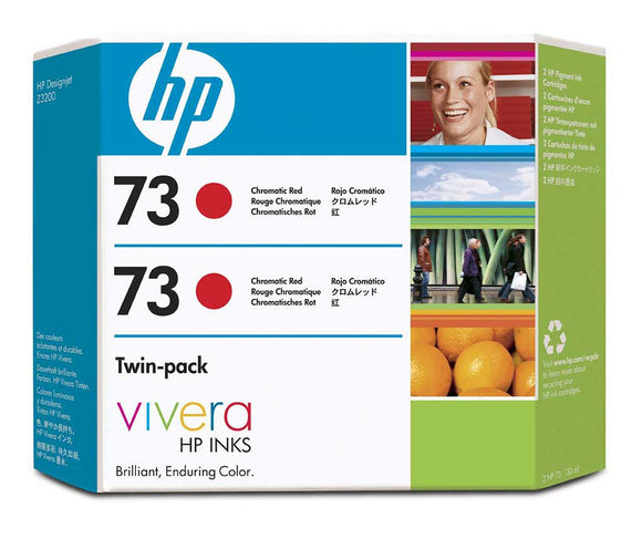 HP 70 CD952A Chromatic Red Twin Pack - 2 x CD951A - CoolGraphicStuff.com
