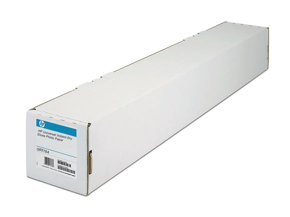 HP 60 in x 100 ft Universal Instant-Dry Photo Gloss Photographic Papers - Q6578A - CoolGraphicStuff.com