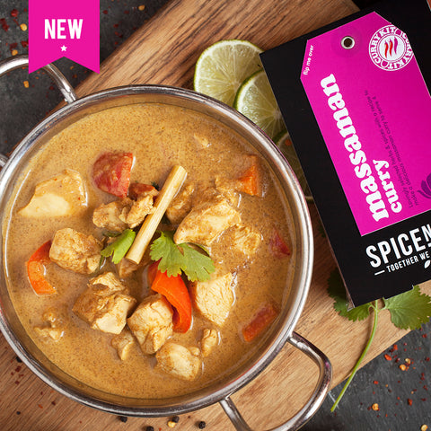 Massaman Curry Kit | Easy Recipe | Spice Meal Kits | SPICE N TICE