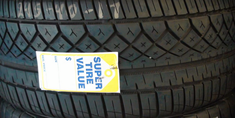"15"" Tires- High Tread  From $35.99 ea"