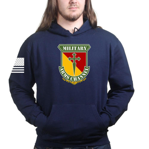 Military Arms Channel Logo Hoodie