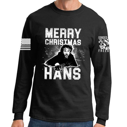 Merry Christmas Hans Long Sleeve T-shirt