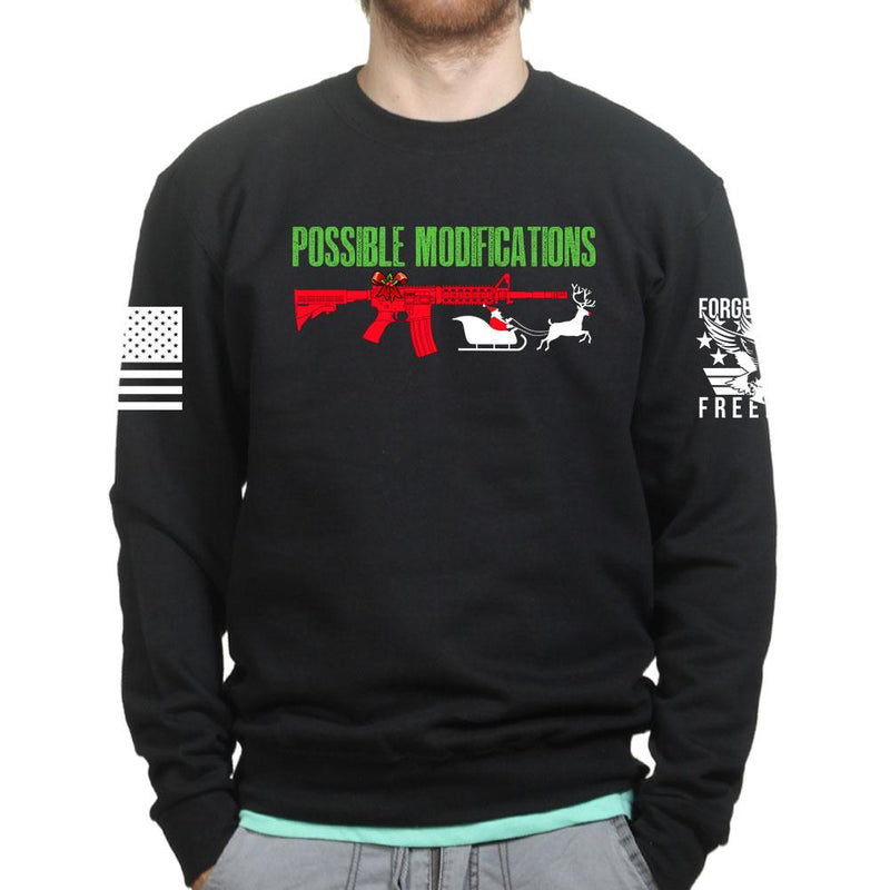 AR-15 Possible Modifications - Santa Sweatshirt