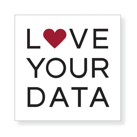 Love Your Data Stickers