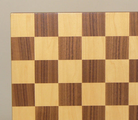 "13"" Walnut & Maple Veneer Board - ChessWarehouse - 1"