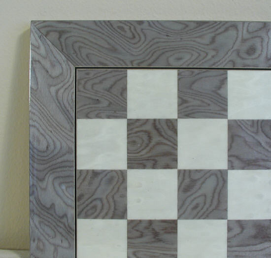 "17"" Grey & Ivory Wide Frame Board - ChessWarehouse - 1"
