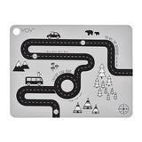 OYOY Kids Rectangle Silicone Placemats